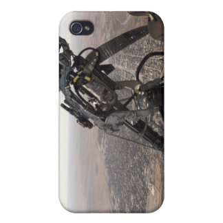 A crew chief looks for suspicious activity iPhone 4 cases