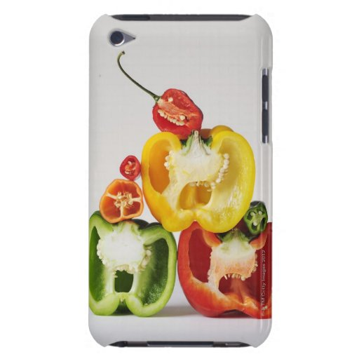A cross-section of peppers barely there iPod case