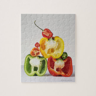 A cross-section of peppers jigsaw puzzle