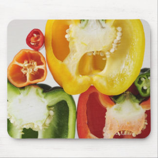 A cross-section of peppers mouse mat