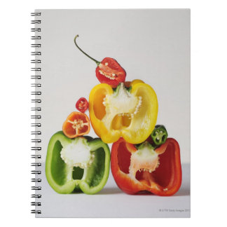 A cross-section of peppers notebooks