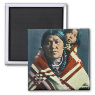 A Crow Indian Madonna and Child Magnet