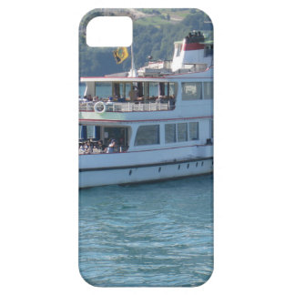 A cruise boat on a lake in Switzerland iPhone 5 Cases