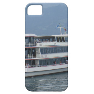 A cruise ship on a lake in Switzerland iPhone 5 Cases