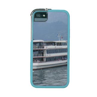 A cruise ship on Lake Thun iPhone 5/5S Cover