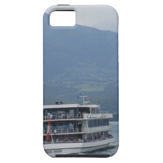A cruise ship on Lake Thun in Switzerland iPhone 5 Cover