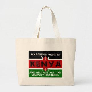 A Crummy Souvenir of Kenya Large Tote Bag