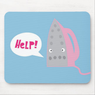 A cry for help mouse mat