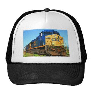 A CSX Train Cap