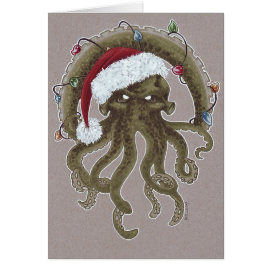 A Cthulhu Christmas Card