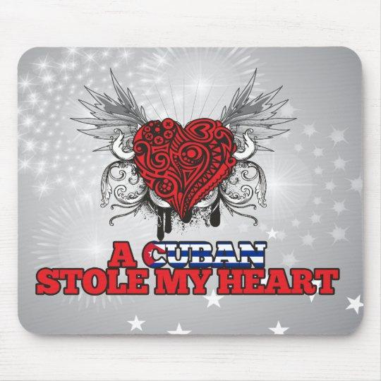 A Cuban Stole my Heart Mouse Mat