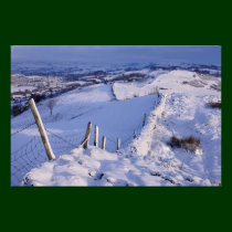 A Cumbrian winter landscape Photo Print