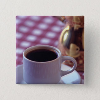 A cup of Arabic Coffee. Syria. The Middle 15 Cm Square Badge