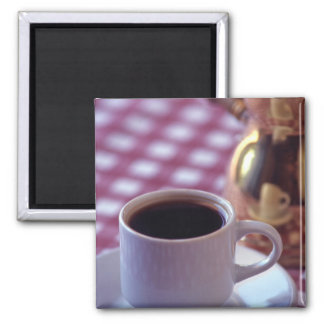 A cup of Arabic Coffee. Syria. The Middle Square Magnet