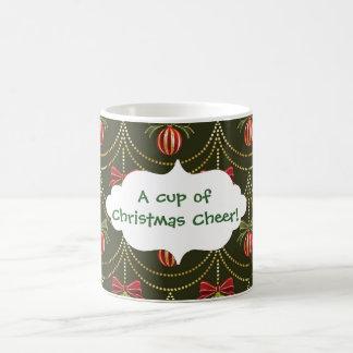 A cup of christmas cheer Bauble Mug