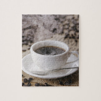 A cup of coffee jigsaw puzzle