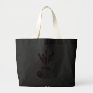 A Cup Of Hot Love Canvas Bag