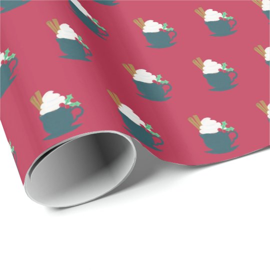 A Cup of Let It Snow Wrapping Paper