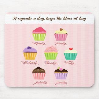 A Cupcake a Day Mousepad