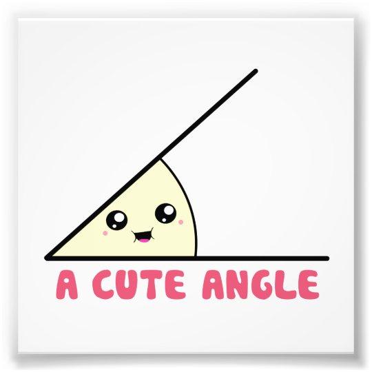 A Cute Acute Angle Photo Print