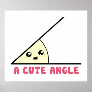 A Cute Acute Angle Poster