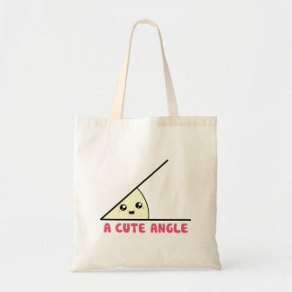 A Cute Acute Angle Tote Bag
