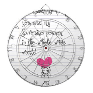 A cute and quirky doodle for mums. dartboard
