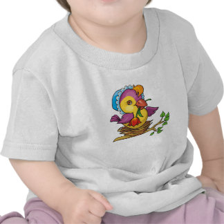 A cute Birdie for Easter Tee Shirts