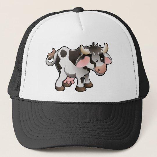 A Cute Dairy Cow Cap
