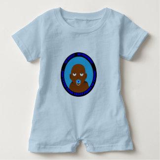 A cute, funny, baby boy baby bodysuit
