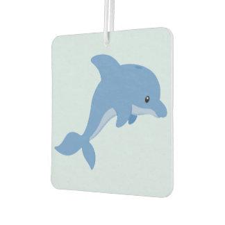 A Cute Happy Dolphin Car Air Freshener