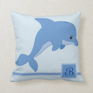 A Cute Happy Dolphin Cushion