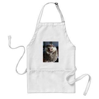 A cute hedgehog standard apron