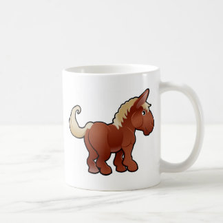 A cute horse farm animal coffee mugs