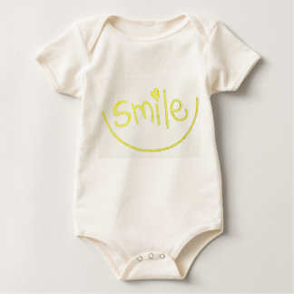 A cute little smile attire for your munchkin... baby bodysuit