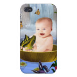 A cute nature baby iPhone 4/4S covers