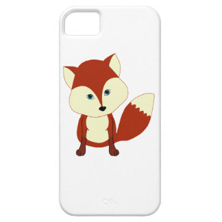 A cute red fox iPhone 5 covers
