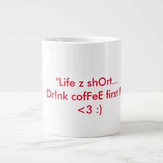 A cute simple and attractive coffee mug
