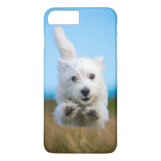 A Cute West Highland Terrier Puppy Running iPhone 8 Plus/7 Plus Case