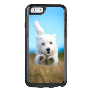 A Cute West Highland Terrier Puppy Running OtterBox iPhone 6/6s Case
