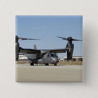 A CV-22 Osprey prepares for take-off 15 Cm Square Badge