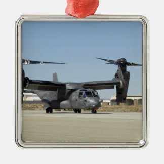 A CV-22 Osprey prepares for take-off Christmas Ornament