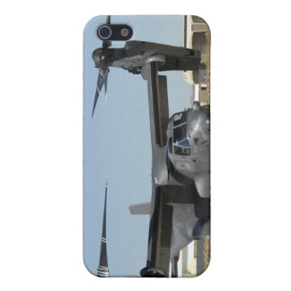 A CV-22 Osprey prepares for take-off iPhone 5 Cover