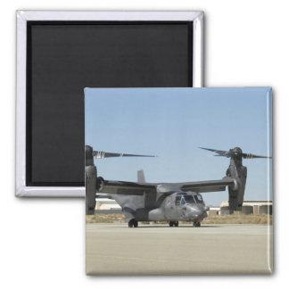 A CV-22 Osprey prepares for take-off Magnet