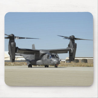 A CV-22 Osprey prepares for take-off Mouse Pad