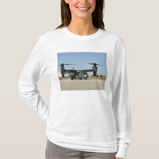 A CV-22 Osprey prepares for take-off T-Shirt