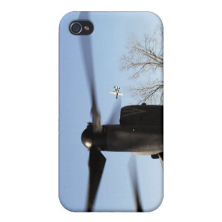 A CV-22 Osprey prepares to take off iPhone 4 Case