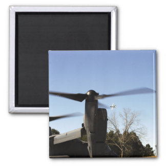 A CV-22 Osprey prepares to take off Magnet