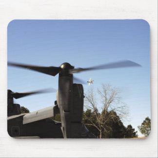 A CV-22 Osprey prepares to take off Mouse Mat