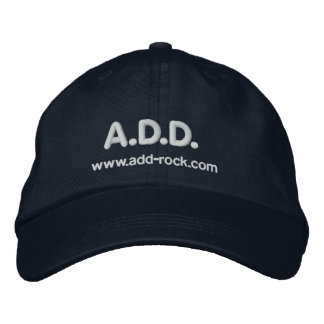 A.D.D. Rock Band - Embroidered Cap